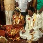 RT @KollywudCinema: Happy Wedding to our team member @pravanchan & #KokilaBalaji pic 01. Join us to wish the couple for long life.