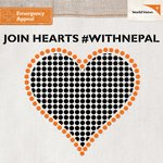 RT @WorldVisionAus: In #Sydney? Join @WorldVisionAus to create a heart made of people & stand #WithNepal at Customs House tomorrow 8-9am ht…