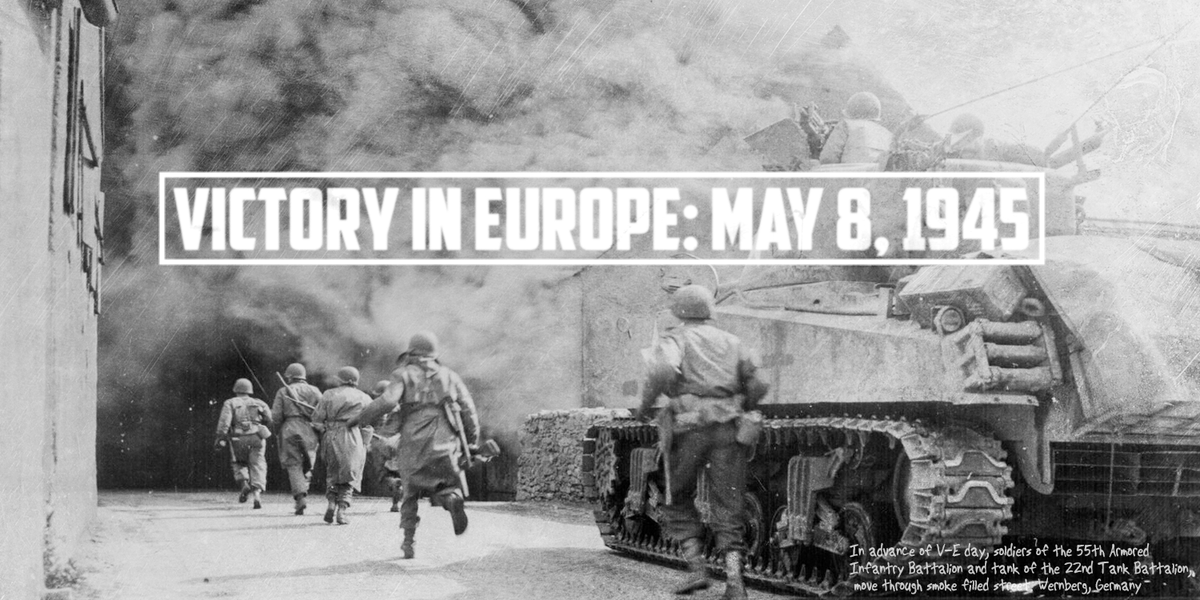 Eternally grateful for the sacrifice of all those who served in World War II to advance the cause of freedom #VEDay http://t.co/OZmfxoqBEX
