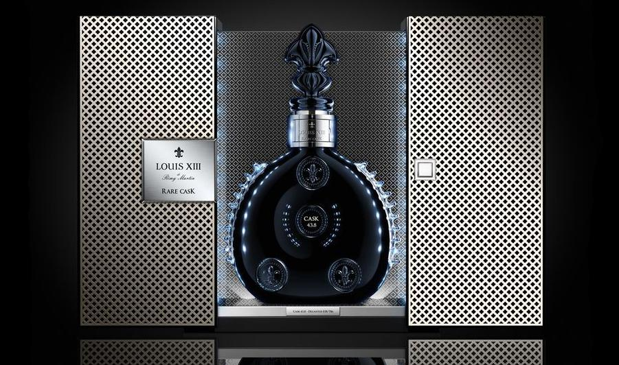 Packaging Of A $20,000 Bottle Of Cognac
