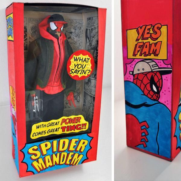 Spider Mandem? Aye! I want this lol http://t.co/BLq3PSSXgB