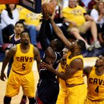 Four quarters wasnt enough! Cavs and Hawks are headed to overtime in Game 3 tied, 104-104. http://t.co/ToTmFGDQWZ