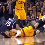"""Al Horford on Matthew Dellavedova: """"I dont think that it was malicious, but hes gotta learn."""" (via @NBAonTNT) http://t.co/LYg1lAqoYc"""