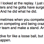 Seems like a well-reasoned take on the matter. RT @CBSSportsNBA: DeMarre Carroll on the Horford/Dellavedova incident: http://t.co/bbMVskdQEw