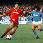 Carlo Ancelotti y Diego Armando Maradona en un Derby del Sole http://t.co/vtQyPMAT5c