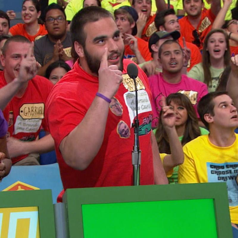 When Jeffrey isn't busy tackling #footballplayers at @MNSCU he tackles #games on The #PriceIsRight! http://t.co/BQN7VDvaTP