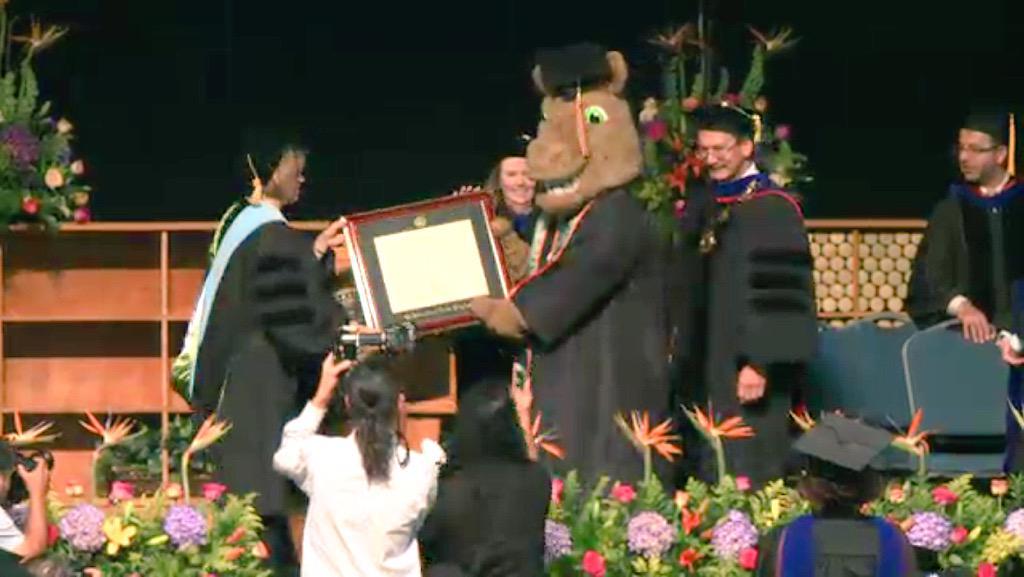 Congratulations Bucky! #UTPAgrad15 http://t.co/Iiqz7IEBlW