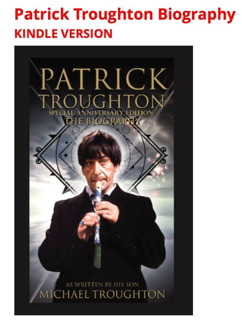 Kindle version of Pat Troughton biography is (finally) up! On Amazon/via website: http://t.co/MJl69Gqnvl #DoctorWho http://t.co/8TghIzbUWX