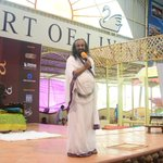 RT @AOLUniverse: Today marked the end of the Mega Happiness Program with @SriSri with 10K people receiving the gift of #SudarshanKriya