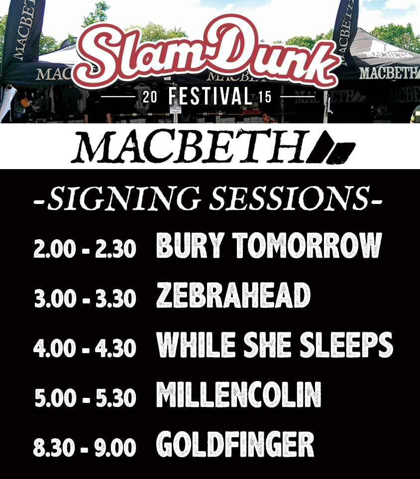 Signings @SlamDunkMusic  @burytomorrow, @whileshesleeps @zebrahead @Millencolin @goldfingermusic #slamdunkfestival http://t.co/aHLqaE8OBA