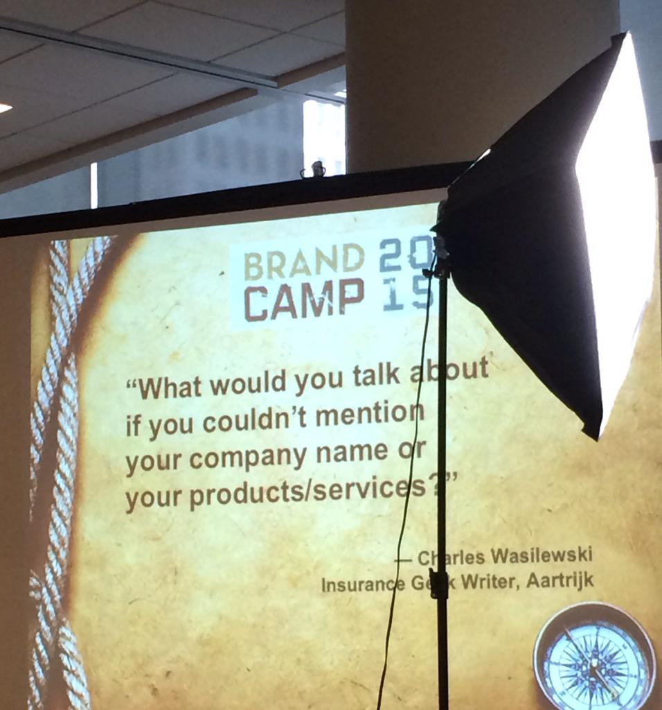 Here's a challenge. #Brandcamp2015 http://t.co/19hnvoKXqa