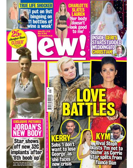 It's mag day! @Charlottegshore slates @LaurenGoodger over her weight loss PLUS: