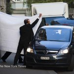 FIFA officials were escorted out behind sheets at the Baur au Lac hotel in Zurich http://t.co/LCuxIyugth http://t.co/1M8SuQMSUu