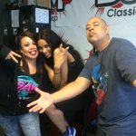 RT @RobGTheGeneral: @ciara in the studio now with the #BoomJuiceCrew sharing her favorite #ClassicHipHop song