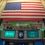 This is it! We're now trading on the New York Stock Exchange $SHOP 🔔 http://t.co/OtpDruwNs2