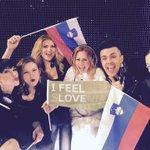 Of course we did it! Off to #Eurovision finals #ifeelsLOVEnia @MaraayaMusic http://t.co/Kthl5ebrt1