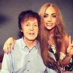 Paul McCartney e Lady Gaga gravam juntos para trilha sonora de animação. http://t.co/5JHbBAPJQ2 http://t.co/S1BQqcTKl9