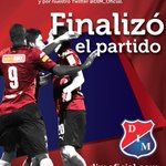 Final del juego en el Metropolitano #DIMRadio1440AM #JuniorvsDIM 2-2 (Valencia, Caicedo) #VamosMedellín. http://t.co/uTCxVaWsOR