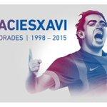 Todos los detalles de la etapa culé de Xavi, que hoy ha anunciado su adiós http://t.co/UbeXNidpre #6raciesXavi http://t.co/6FRtxcfR8O