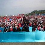 Maşallah! Ordu ve Giresun bugün Karadeniz gibi kükredi. Hayaller gerçek oldu. Ordu-Giresun Havalimanı açıldı... http://t.co/h28r9JJVCy