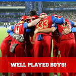 We hurt our chances tonight to stretch an incredible run all the way to the #IPL final! Still, well played boys! http://t.co/LeCBFMDqZR
