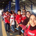 admin & penyokong lain sedang menuju ke Stadium Bukit Jalil! Gomo Klate Gomo! #TRW #FinalPialaFA2015 #GomoKelateGomo http://t.co/MXa7fw0DUi