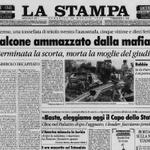 23 anni dalla strage di #Capaci, una #primapagina che non avremmo voluto scrivere http://t.co/H3fHbT4e5S #Falcone http://t.co/YAOWYrEXsA