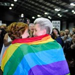 Ireland gay marriage referendum results: yes vote expected - live http://t.co/iJj7y1xkJf http://t.co/4VZXflFRNE
