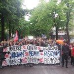 """""""Siamo tutti antifascisti"""" """"Vsi smo mi antifašisti"""" #23m #gorizia  Non ci sono dubbi @Wu_Ming_Foundt http://t.co/zuKrnaurXd"""