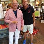 Honorary #SOGOPCOLA Mayor Don Work & Pensacola Mayor @ashtonjhayward enjoying #SOGOSATURDAY festivities! #Pensacola http://t.co/YQxlhvXyaW
