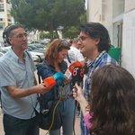 .@FELIPECADI atiende a los medios tras ejercer su derecho al voto. #ApoderadosUPyD #Eleccion2015 #Cádiz http://t.co/5ntcijgy2y