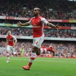 .@theowalcott gets the show on the road with his third @premierleague goal of the season... #AFCvWBA http://t.co/hk7ghkpSbn