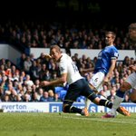 FULL-TIME Everton 0-1 Spurs. Harry Kane's 21st #BPL goal of the season sees Spurs finish on a high #EVETOT http://t.co/FzZh5pwPue