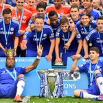 An unforgettable season! Thank you all! Next one we want MORE! @ChelseaFC http://t.co/E4HZ1BIcOG