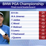 Byeong Hun An fired a seven-under 65 to storm to a six-shot victory in the BMW PGA Championship at Wentworth. #SSNHQ http://t.co/t8leWFE8Lz