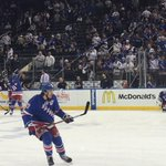 #NYR warming up @TheGarden. LETS GO RANGERS!! http://t.co/zFcuVYvkzM