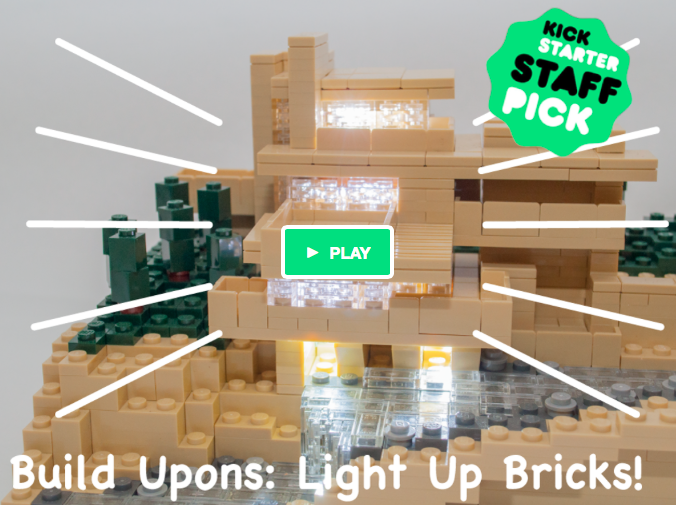 #BuildUpons, amazingly tiny light up bricks, #LEGOcompatible! #Kickstarter to June 25! #lego http://t.co/1nyK8FYz9w http://t.co/fchGiRXOIo