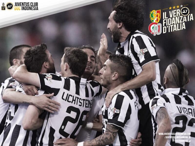 Bagi kami, kalian tetap juara. Musim yang hebat. Semangat yang luar biasa. Ieri, Oggi, Domani, SEMPRE JUVENTUS!! http://t.co/0wjvVcZYNU