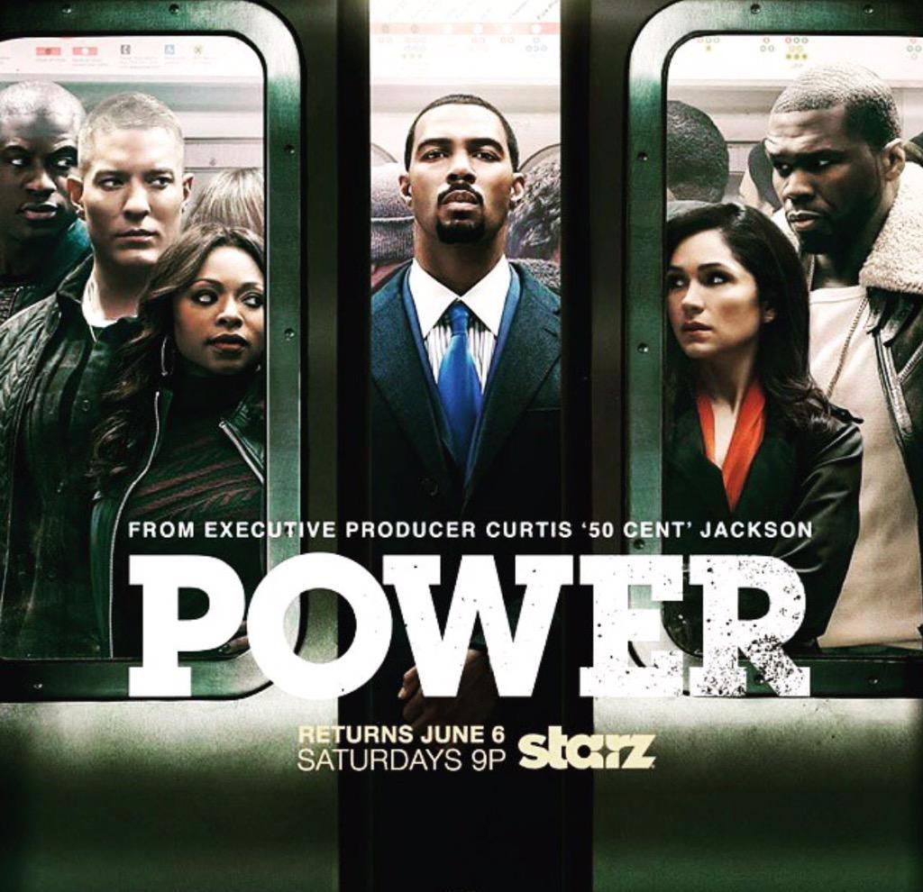 It's POWER TIME!  #PowerSeason2 #PowerPremiere  #Power http://t.co/vVRw9A8Ny9