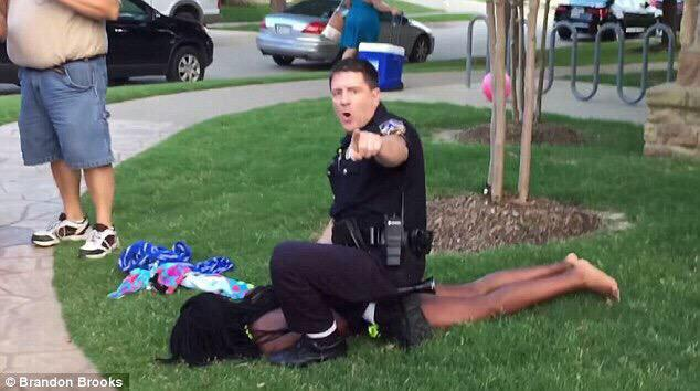 Tell you what, any coward who treats someone's daughter this way, deserves 30 minutes alone with her dad. #McKinney http://t.co/8bhDHet6lL
