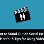 Want To Stand Out On Social Media? Here's 18 Tips For Using Video - http://t.co/4HHPwLSuon #Bizitalk #KPRS http://t.co/Dsx5r0kDlj