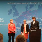 Vandaag met burgemeester Zwolle aanwezig bij opening door Angela Merkel vh Europees Hanze museum in Lubeck http://t.co/raw9gEuqz6