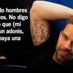 Ricky Martin asegura que no necesita un adonis para llegar al altar: http://t.co/HQwn6pukMU http://t.co/NOewR9ccWr