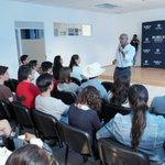 Muchas gracias a los jóvenes de la Universidad @unea por brindarme sus propuestas en la mañana. #YoVotoMarcos http://t.co/nK7d3Uoy0c