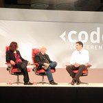 .@Sprint CEO @marceloclaure is onstage now at #CodeCon with @inafried & @waltmossberg http://t.co/XDeFmguhzk