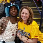 !!!! RT @JenniferKeene: I met @LILBTHEBASEDGOD and hes incredibly nice. Go Warriors! http://t.co/abcFITDJqM