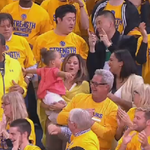 Looking like the Curry family is in celebration mode. http://t.co/Iv1qK0SY3q
