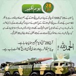 28 May 1998, unforgettable day when world knew about Pakistans strength #WhyPakNeededNukes #YoumETakbeer #یوم_تکبیر http://t.co/PBWuI1Ua8q
