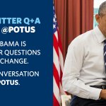 Keep your climate change questions coming for @POTUS. Hell start answering at 1pm ET. #AskPOTUS http://t.co/fcfUnwUNQA