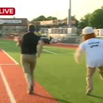 VIDEO: News 8s Nick Ragner races Louie the Logger: http://t.co/22xrBpYjLP @LoggersBaseball #wkbtnews8 http://t.co/7Bdie3pezn